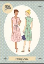Vintage Inspired 'Penny' Shirt Dress Pattern
